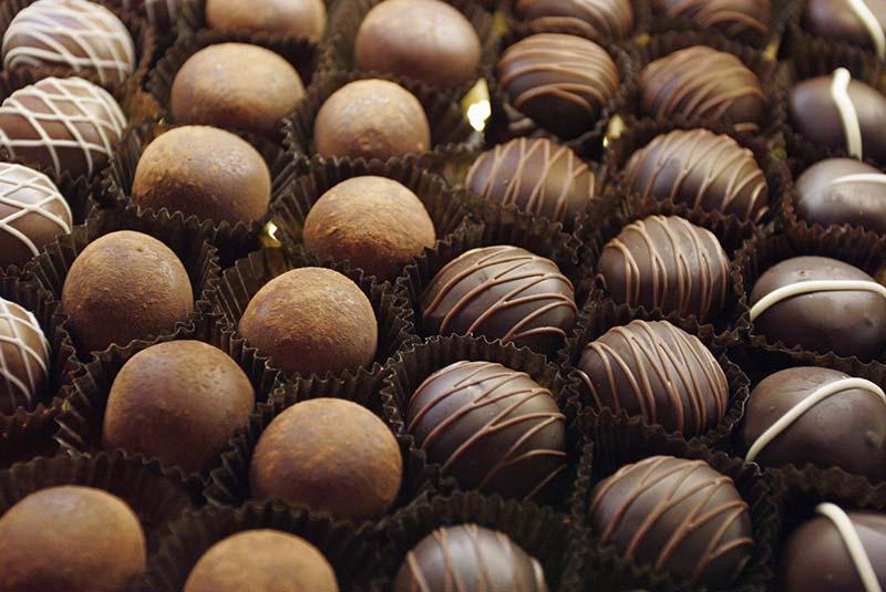 شکلات پاریسی