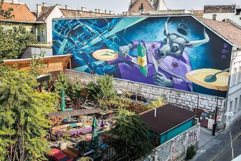 هنر خیابانی بوداپست