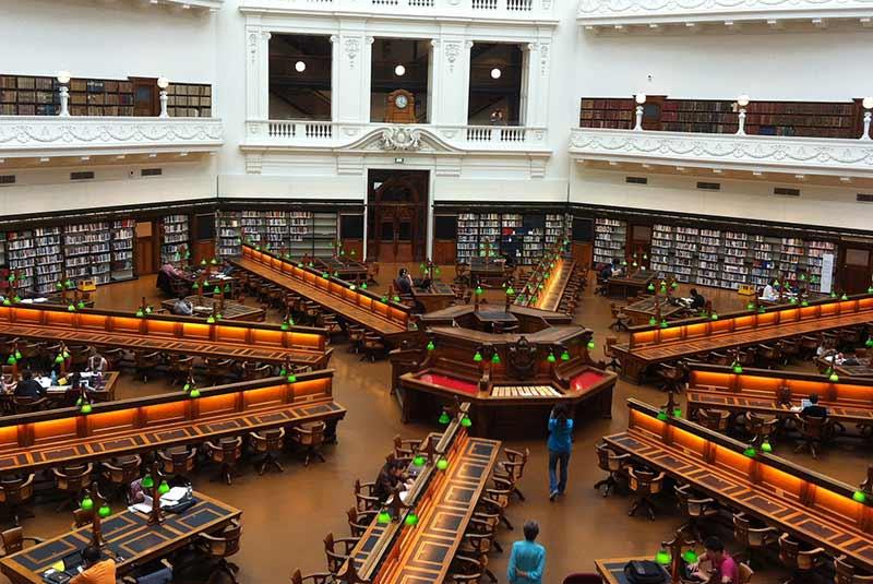کتابخانه ملبورن
