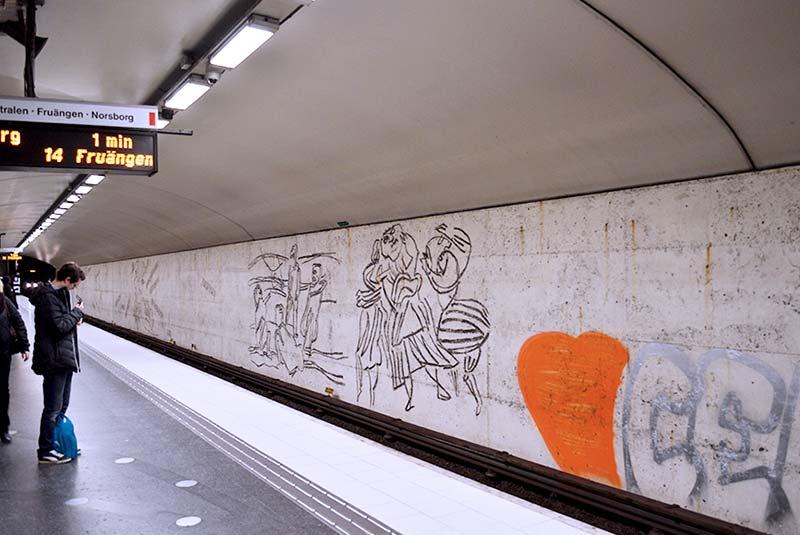 ایستگاه مترو استکهلم