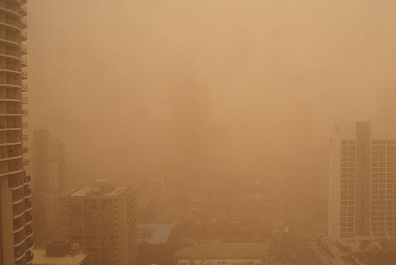 طوفان شن ملبورن