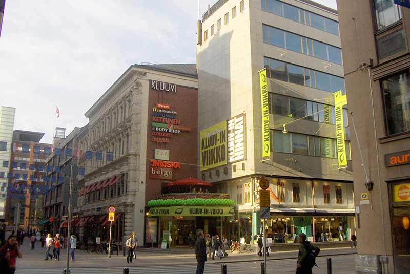 مراکز خرید هلسینکی