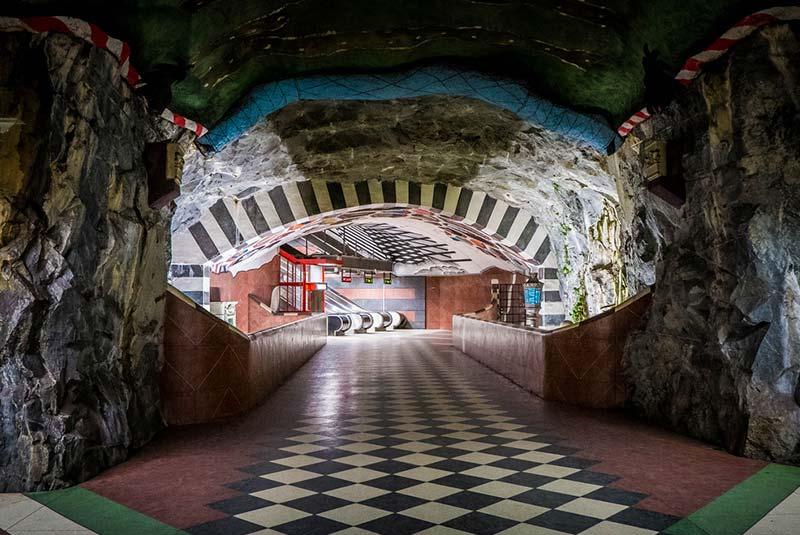 ایستگاه مترو سوئد