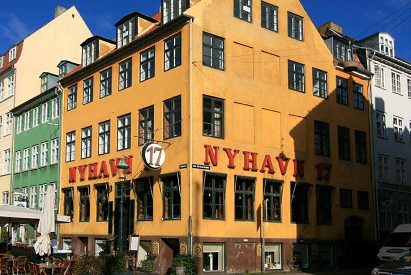 ساختمان قدیمی خالکوبی دانمارک