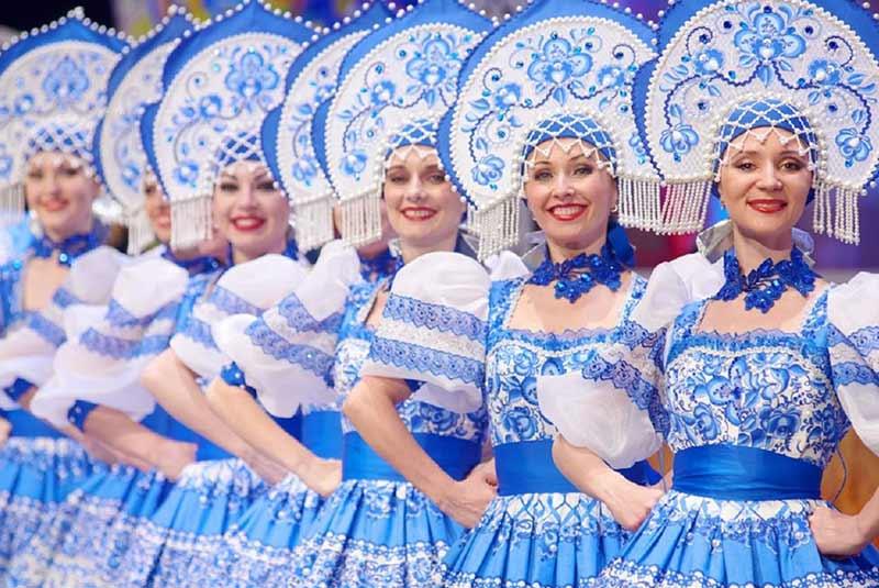 رقص در مسکو