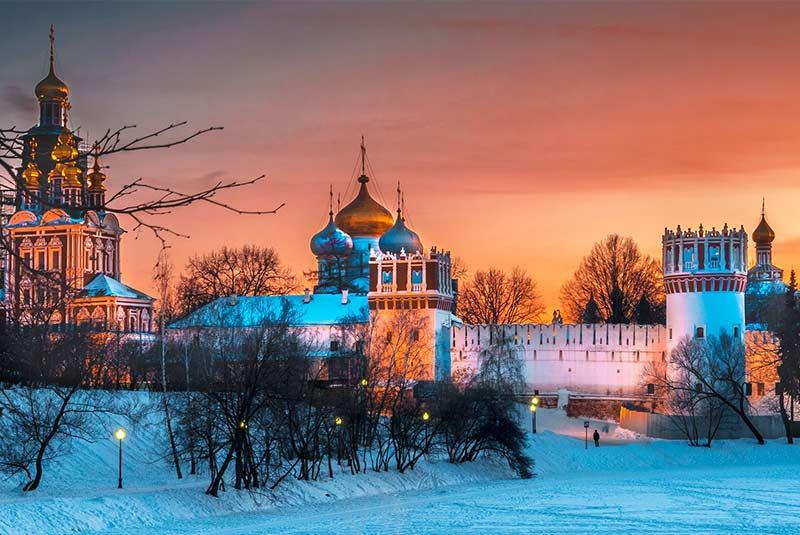 کلیساهای مسکو