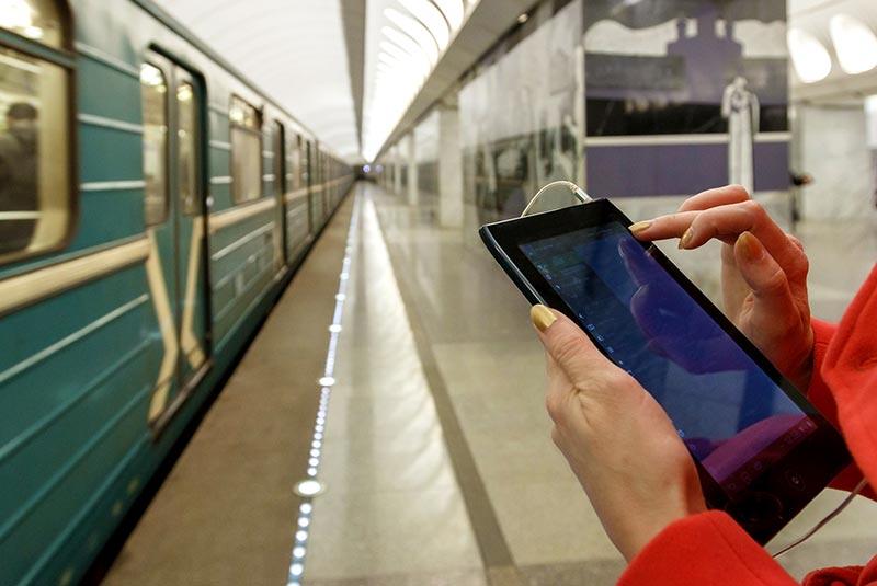 اپلیکیشن متروهای روسیه