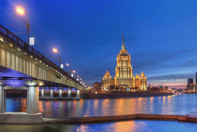 آسمان خراش های مسکو