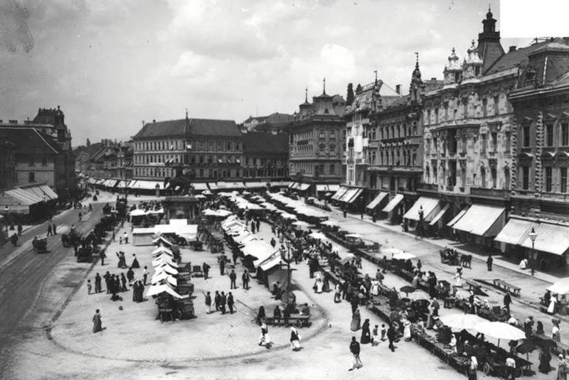 بازار محلی زاگرب