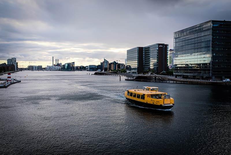 اتوبوس آبی کپنهاگ