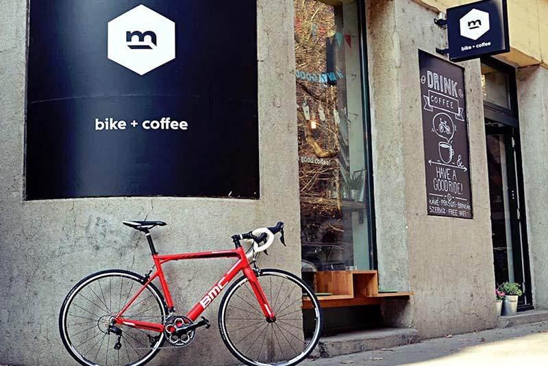 دوچرخه و قهوه بوداپست