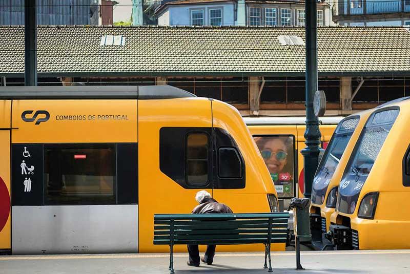 سفر با قطار در پرتغال