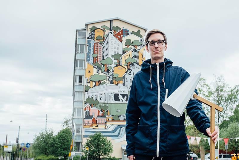 هنر خیابانی هلسینکی