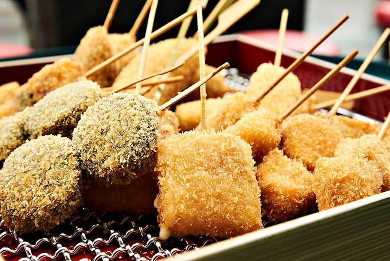 غذاهای خیابانی اوزاکا