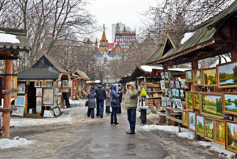 ایزمالوفسکی مارکت مسکو