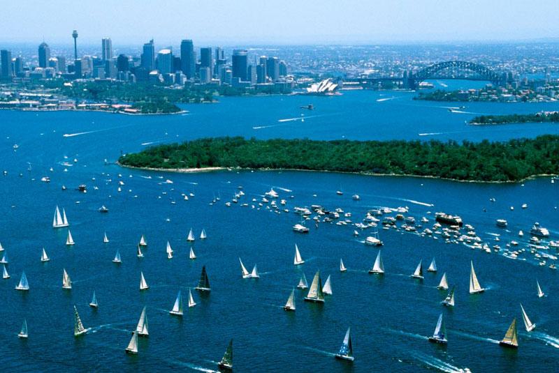 مسابقه قایقرانی از سیدنی تا هوبارت