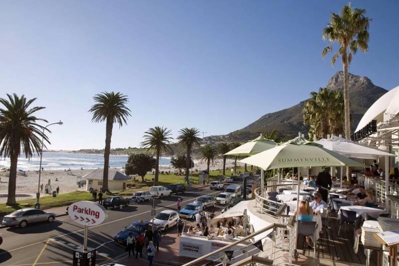 رستوران های کیپ تاون با چشم انداز اقیانوس