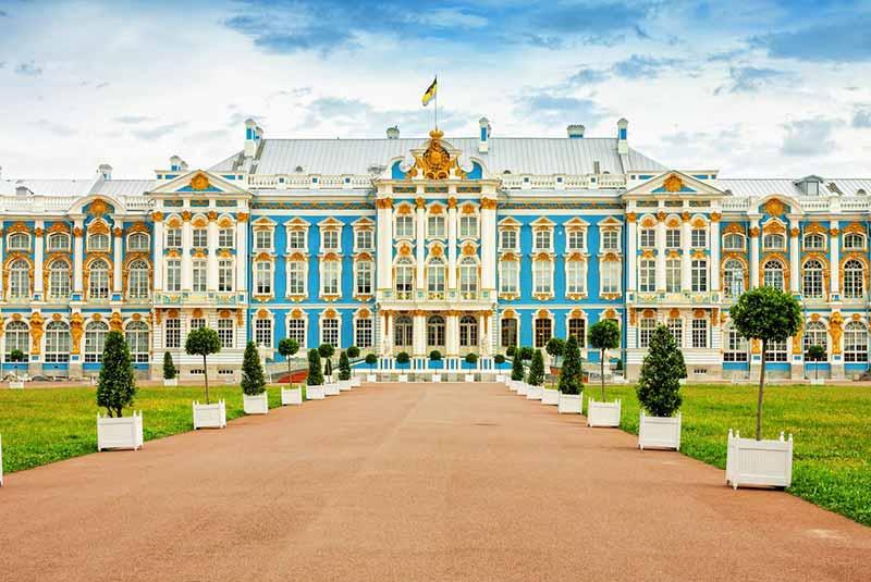 کاخ های سن پترزبورگ