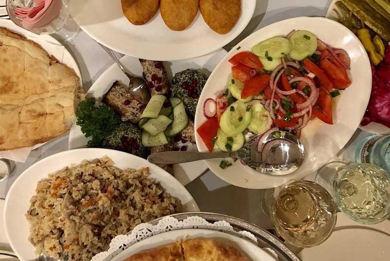 رستوران پیروسمانی مسکو