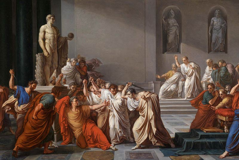 مرگ سزار