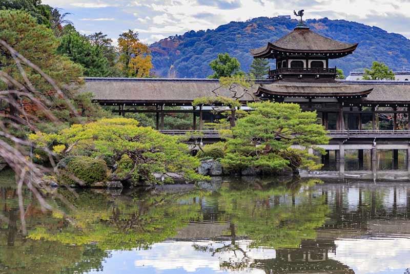 باغ های ژاپنی کیوتو