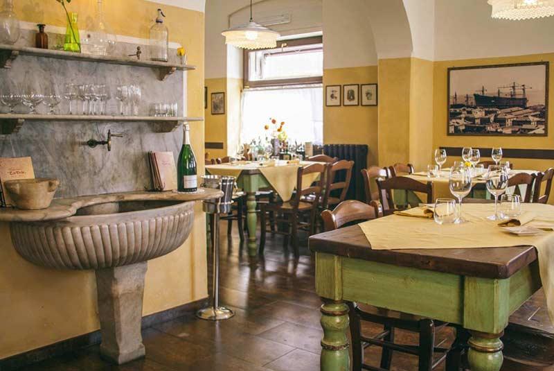 رستوران های جنوا