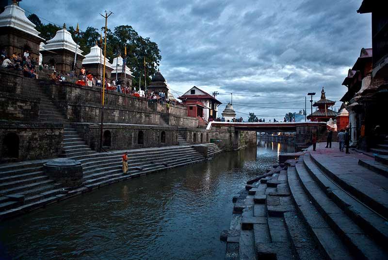 رودخانه باگماتی نپال