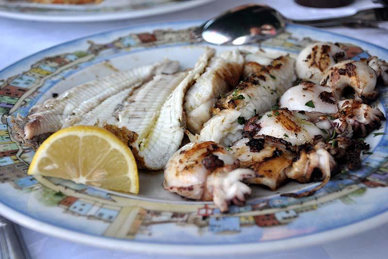 غذاهای جزیره بورانو
