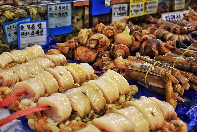 بازار ماهی سئول