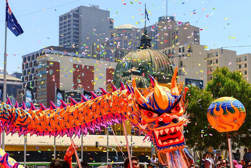 فستیوال سال نو چینیها