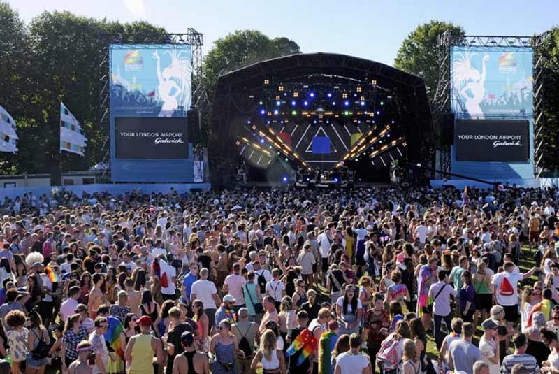 فستیوال غرور در برایتون