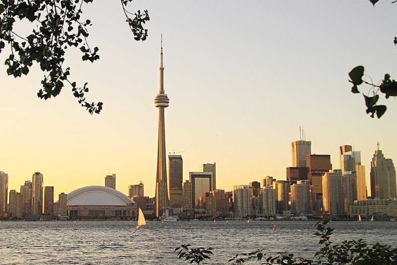پیاده گردی در تورنتو