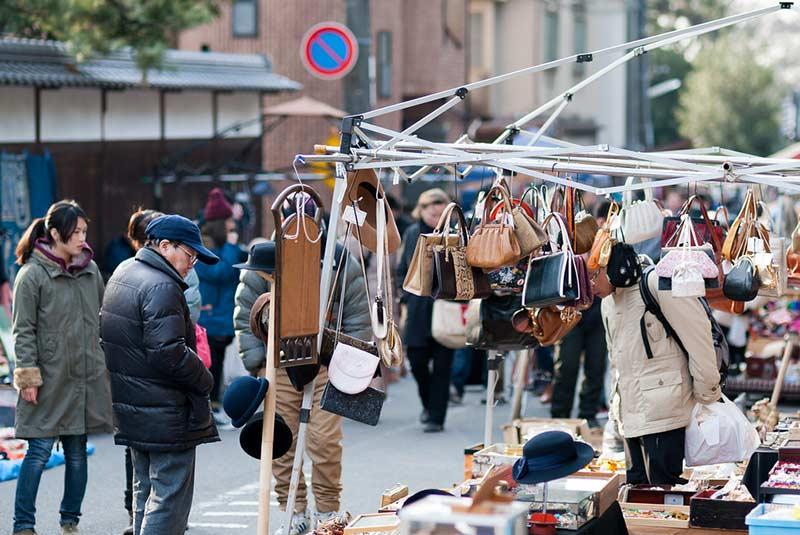 بازار تنجین سان کیوتو