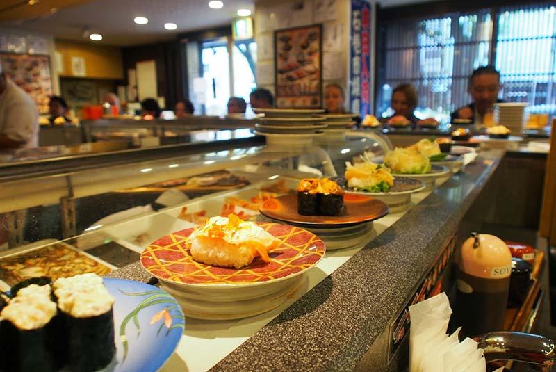 رستوران های ارزان سوشی
