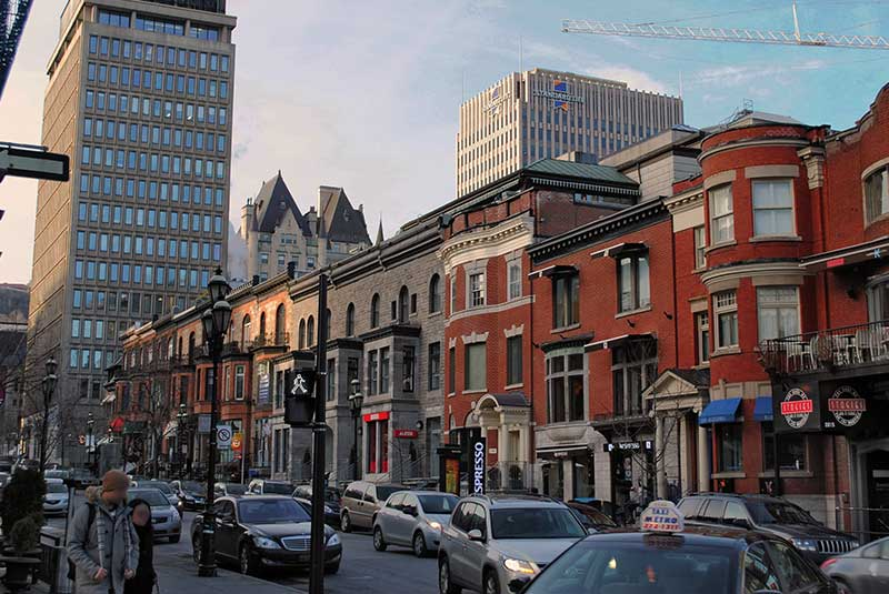خیابان کرسنت مونترال