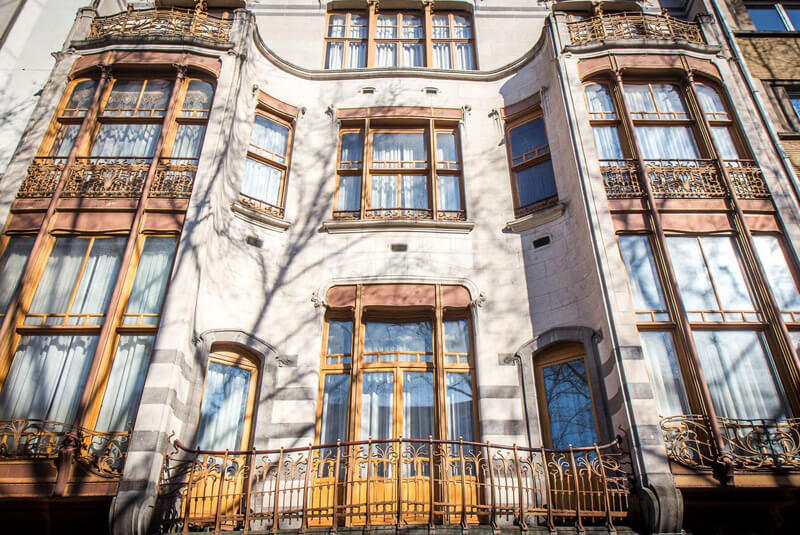 خانه های طراحی شده توسط ویکتور هورتا در بروکسل