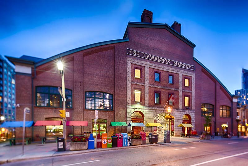 بازار سنت لورنس تورنتو