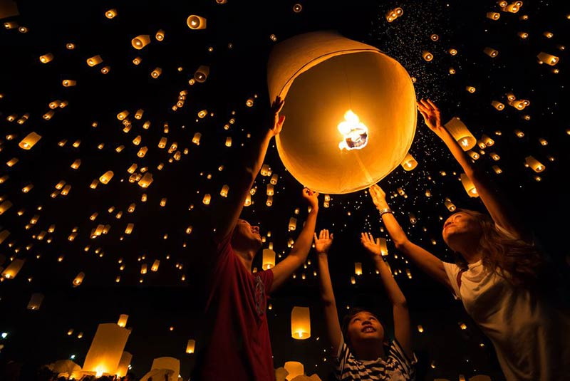 فستیوال های تایلند