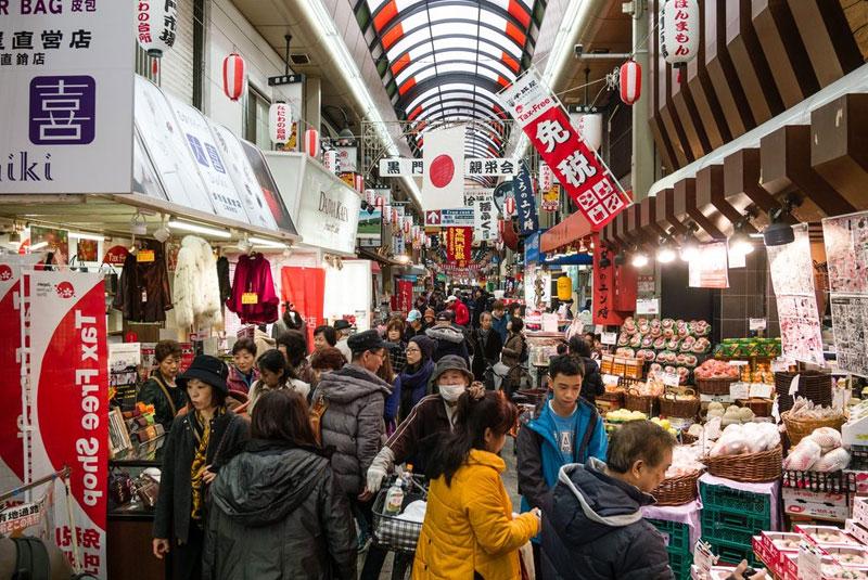 بهترین بازارهای اوزاکا