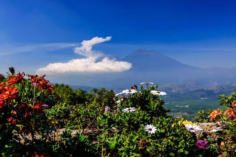 مناظر آتشفشانی گواتمالا