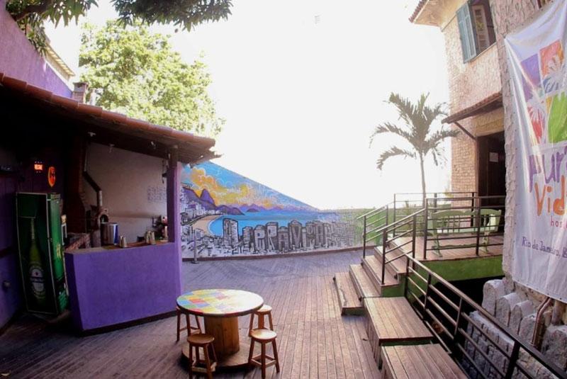 هاستل های ارزان در ساحل کوپاکابانا