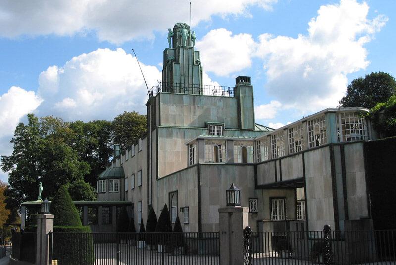 قصر استاکلت بروکسل بلژیک