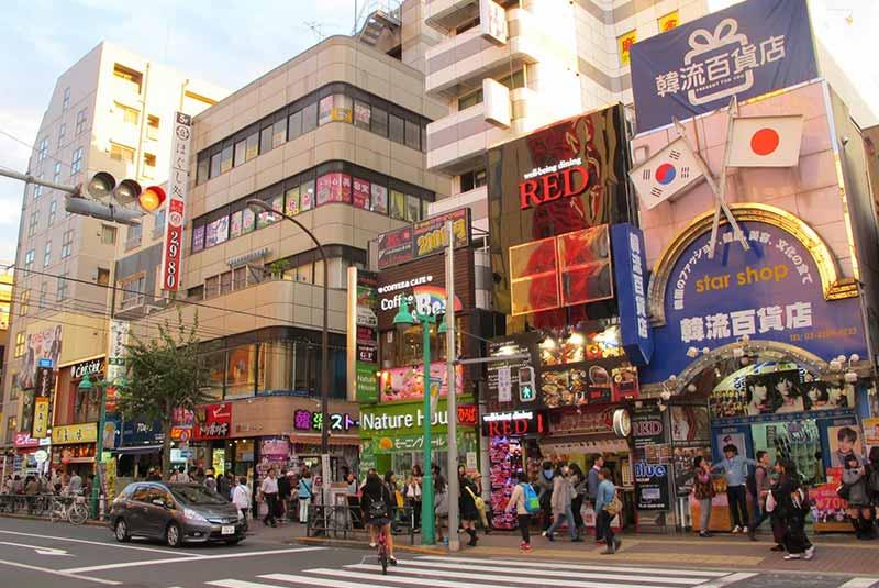 محله های توکیو