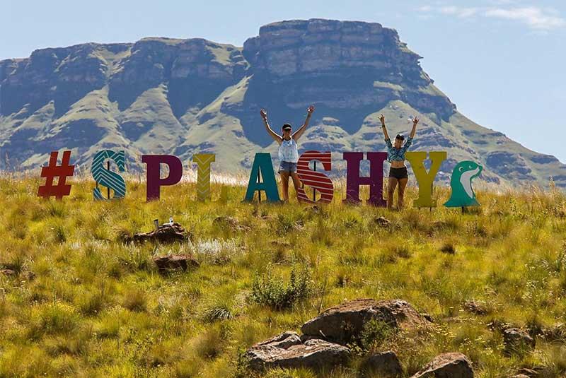 فستیوال اسپلشی فن آفریقای جنوبی