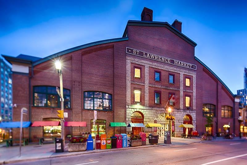 بازار سنت لارنس تورنتو