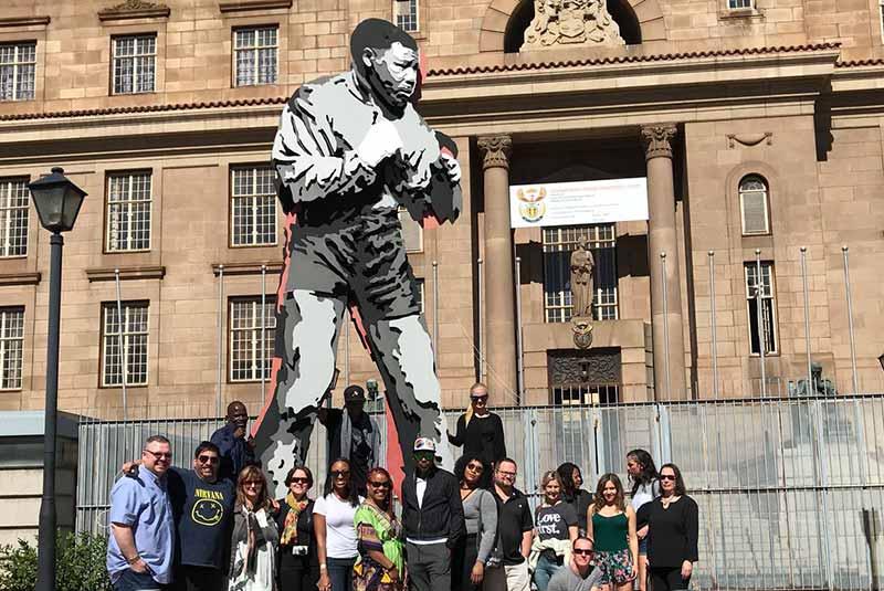 مجسمه بوکشور نسلون ماندلا