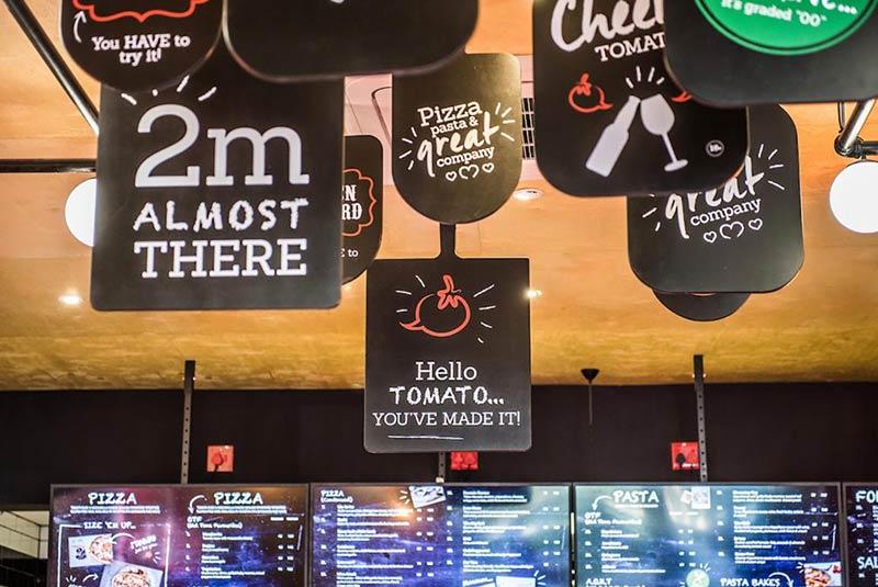 رستوران هلو تومیتو ژوهانسبورگ
