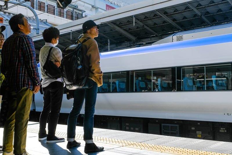 سفر با قطار در ژاپن