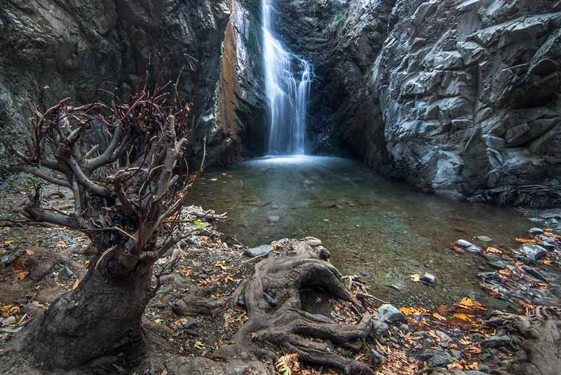 آبشارهای میلومری قبرس