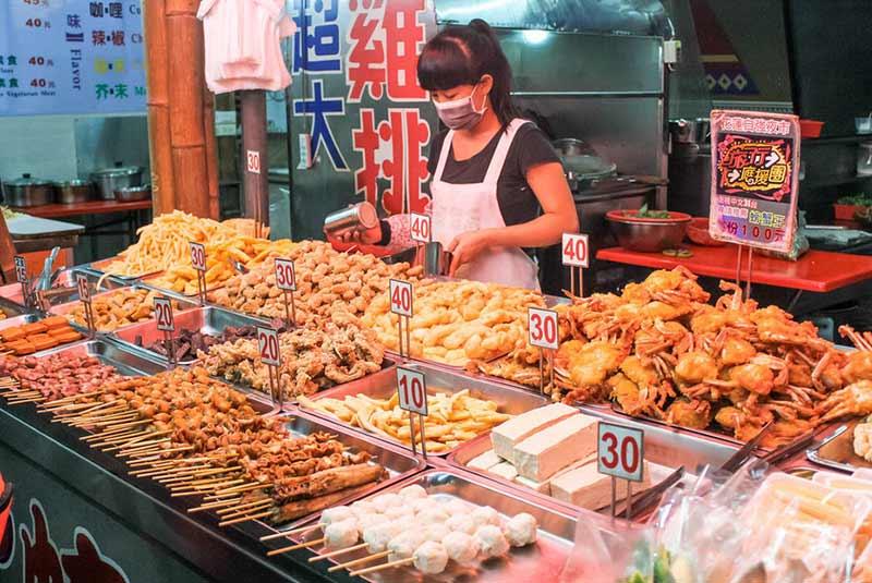 بازار شبانه کره جنوبی